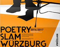 Poetry Slam Würzburg Programmfolder 2016/2017