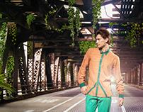 Bhusattva, Organic Clothing Ad.