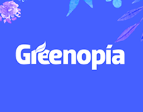 Greenopia - Interface Design + Branding