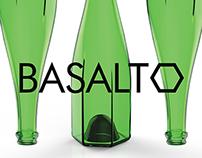 BASALTO. Champagne Bottle Design.
