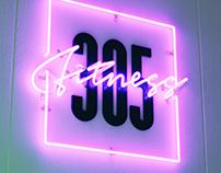 305 Fitness Rebrand