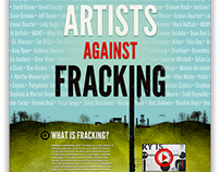 Artists Against Fracking