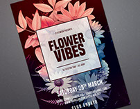 Flower Vibes Flyer
