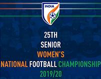 Senior Women's National Football Championship 19/20