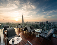 ROOFTOP Bars for BANGKOK Cityscape photography