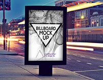 PhotoRealistic BillBoard Mock-Ups Vol.1
