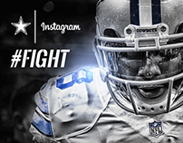 Dallas Cowboys 2015 Instagram Pitch