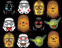 Star Wars Emoji tshirt