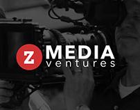 Custom Website and Brochure for Z Media Ventures