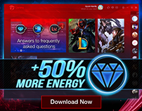 Garena PC Client Teaser and Launch Banners