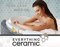 Magazine ad for Everything Ceramic