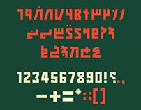 Killaa — A Sovietesque Thaana Typeface