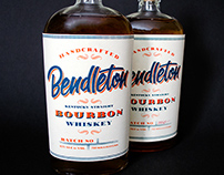 Bendleton Bourbon Label