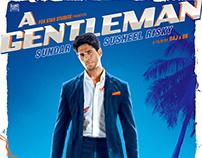 'A GENTLEMAN' 3rd poster