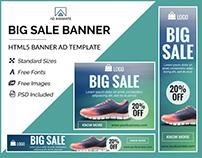Big Sale Banner- HTML5 Ad Templates
