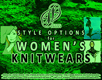 STYLE OPTIONS FOR WOMEN'S KNITWEARS