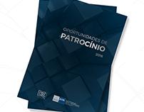 Projeto gráfico - Catálogo de Patrocínio 2018