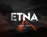 ETNA - Free font