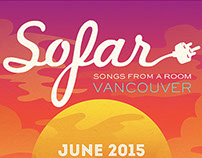 Poster for Sofar Vancouver