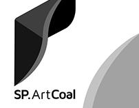 Mining & Art Logo for SP. ARTCOAL - ID