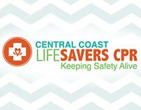 Central Coast Life Savers CPR BIZ CARD