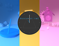 Museum of time - ThreeJs experience