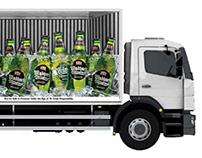 Conceptual 3D Truck Branding