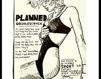 """Planned Obsolescence Girl"", A3 - 11.75*16.5in, Marker"