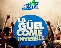 [NESTEA Vzla] Campaña: La Güelcome invisible