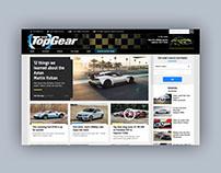 TopGear website redesign