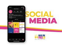 SOCIAL MEDIA / DEUS ME FREELA