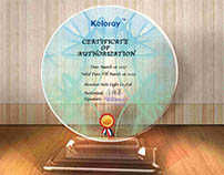 MEDALS prize authorization certificate