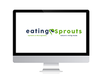 Logo - Branding - eating Sprouts
