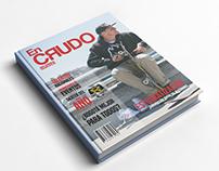 """Portada Revista En Crudo """"Skateboarding"""""""
