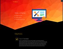 Site Institucional NNB2 - Web + Criativa