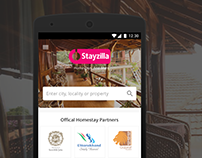 Stayzilla - Mobile Web Homepage
