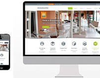 Innovatec tende - Grafica coordinata, sito web