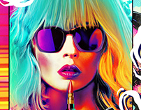 Atomic Blonde Alternative Poster