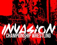 Invasion Championship Wrestling - Logo & Print Design