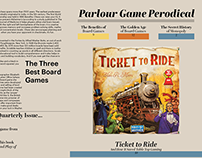 Parlour Game Periodical Newsletter
