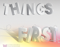 """First Things First"" Manifesto Poster"