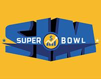 Sim Super Bowl Logo Design