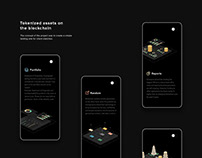 Design of landing page