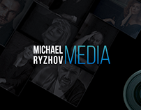 Разработка логотипа для MICHAEL RYZHOV MEDIA