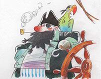 Ismaele pirata pappagallo