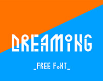 Free Dreaming Display Font