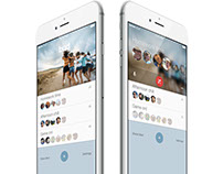Real time group communications app UX