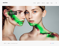 Naevia - Premium Photography WordPress Theme