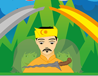 Puteri Gunung Ledang - Illustration