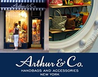 Creative Direction + Design: Arthur & Co. Handbags, NYC